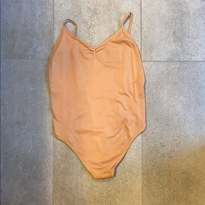 Divided bodysuit size XS